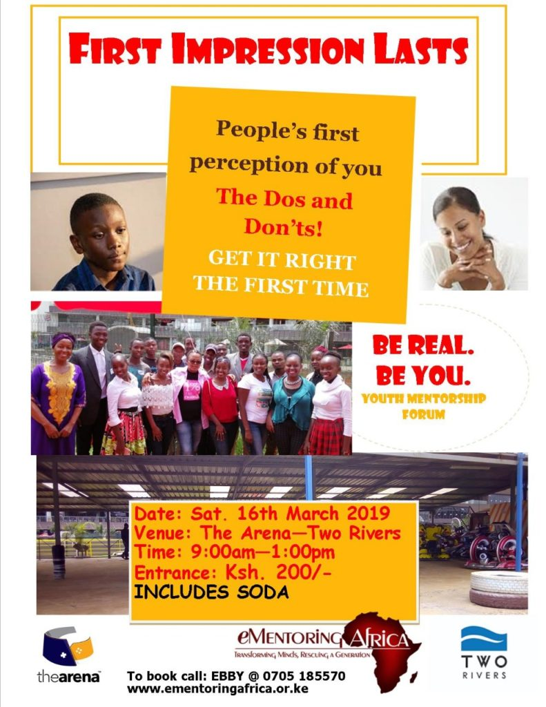 BE REAL. BE YOU mentorship forum