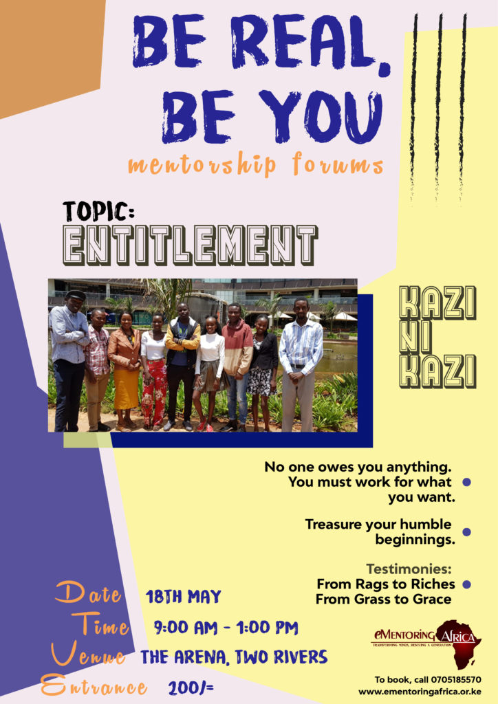 BE REAL. BE YOU mentorship forums