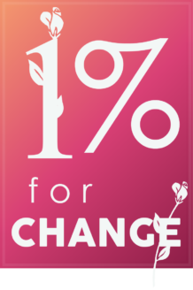 1% for change