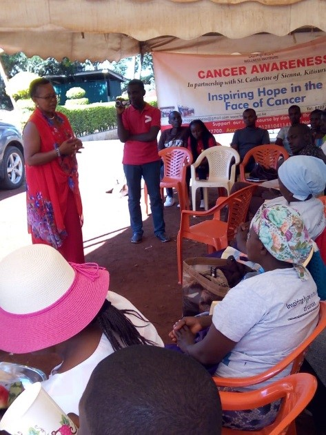 eMentoring Africa and Lady Hope Cancer awareness