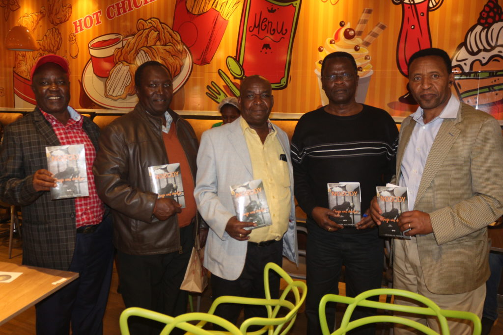 Book launch photo